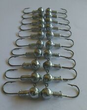 25x 3g Jig Heads Hook Saltwater/fresh Fishing Lures Soft plastic Gulp squidgy