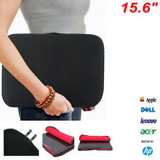 "15.6"" Laptop Sleeve Bag Case Cover For Apple HP DELL Toshiba ASUS Sony Acer"
