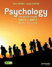 Psychology for the VCE Student Units 1&2 6E & eBookPLUS by John Grivas, Linda C…