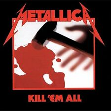 METALLICA  Kill 'Em All 180gm Vinyl LP 2015 (10 Tracks) NEW & SEALED