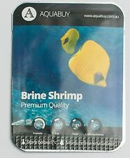 Brine Shrimp Eggs pre-measured for 500mL of water -1 pack - Live fish food