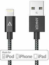 Anker 6ft Nylon Braided USB Cable with Lightning Connector for iPhone 6 NEW!