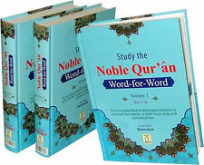 The Noble Qur'an - Word-for-Word -Coloured (3 Vol. HB)
