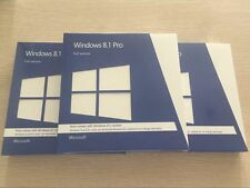 Microsoft Windows 8.1 Pro 32 & 64 Bit Full Version DVD