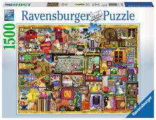 Ravensburger 16312 - Colin Thompson: Bastelregal, 1.500 Teile Puzzle