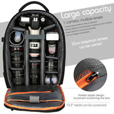 K&F Concept Waterproof DSLR SLR Camera Backpack Bag Case for Nikon Canon Sony AU