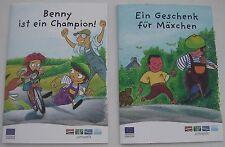 Lesebücher Bilderbücher Benny und Mäxchen 2 Stück NEU