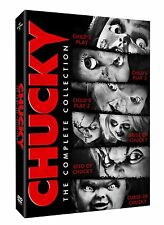 CHUCKY THE COMPLETE COLLECTION (LIMITED EDITION) (2013) NEW SEALED R1 DVD BOXSET