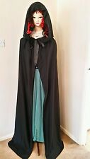 CHRISTMAS MEDIEVAL WITCH VAMPIRE TWILIGHT HOODED CAPE  ADULT 10-12 SIZE NEW