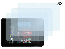 3 x Amazon Kindle Fire HD 7 2012 Matt Antireflex Schutzfolie Displayschutzfolie