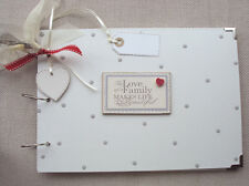 PERSONALISED FAMILY..  A4 SIZE.. PHOTO ALBUM/SCRAPBOOK/MEMORY BOOK.