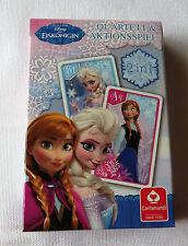 """Kartenspiel / Quartett - 2 in 1 - Walt Disney """" Frozen - Die Eiskönigin """" - NEU"""
