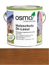 OSMO Holzschutz Öl-Lasur 707 Nußbaum transparent, seidenmatt 0,75L   Nur für auß
