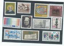 West Germany stamps. 1980 lot MNH (X794)
