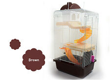 Large Hamster Cage Set Gerbil Rat Mouse Nest House Small Animal House 3 Storey