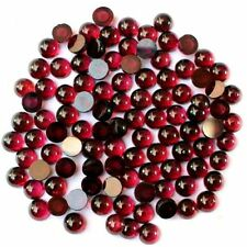 AAA QUALITY WHOLESALE LOT 40 PC NATURAL GARNET PLAIN ROUND 4X4 MM LOOSE GEMSTONE