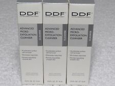 DDF Advanced Micro-Exfoliation Cleanser Anti-aging restorative 1.5 oz (0.5 x 3)