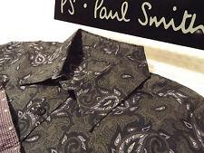 "PAUL SMITH Mens Shirt 🌍 Size M (CHEST 38"") 🌎 RRP £95+ 📮 FLORAL PAISLEY PRINT"
