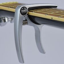 Capo – Quick Trigger Release for Acoustic & Electric Guitar and Ukulele - Silver