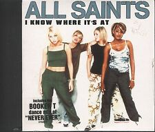All Saints - Know Where Its at CD (card sleeve type)