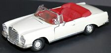 Diecast Car Model MERCEDES BENZ 280 SE CABRIO COUPE SPORTS LIMITED Size 1:18