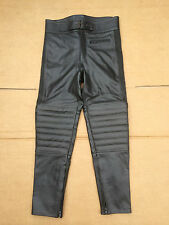 "PROTO Mens Leather Motorbike / Motorcycle Trousers Size UK 31""- 32"" Waist (#53)"