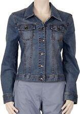 Tom Tailor Stretch Jeans Jacke Neu Größe S blau Jeansjacke