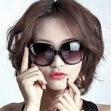 Black Women's Girl Oversized Large Vintage Shades Polarized Designer Sunglasses
