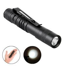 CREE Q5 LED Tactical Flashlight 3000 Lm Bright Torch Lamp Mini Pen Light AAA