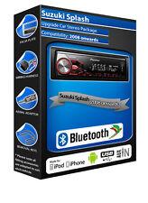 Suzuki Splash car radio Pioneer MVH-X380BT stereo Bluetooth Handsfree, USB AUX