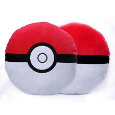 """14"""" Anime Pokemon Stuffed Plush Pokeball Room Throw Cushion Pillow Xmas Toy Doll"""