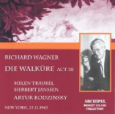 Traubel Janssen - Richard Wagner - Die Walküre Akt 3 - CD - Neu / OVP