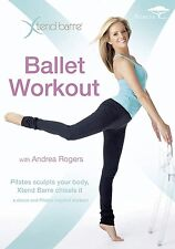 XTEND BARRE Ballet Workout with Andrea Rogers (Region 4) DVD