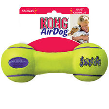 Air Kong Dog Puppy Tennis Fetch Play Toy - Squeaky Dumbbell Small