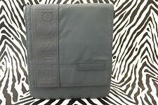 CALVIN KLEIN Small Body Bag CCS001 Grey Pu Flapover Messenger Bags BNWT RRP£55