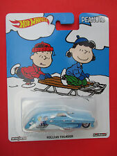 "HOTWHEELS POP CULTURE 2016 PEANUTS ""ROLLING THUNDER"" 1:64 SCALE NEW!"