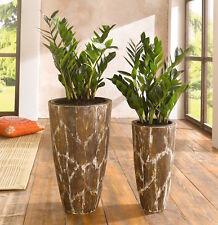 deko blument pfe vasen aus holz ebay. Black Bedroom Furniture Sets. Home Design Ideas