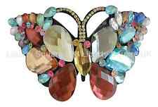 Outstanding Colourful Butterfly Hair Barrette / Wedding Hair Accessories  #577