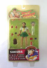 Sakura Street Fighter Round 3 Green Skirt Action Figure Sota 2005