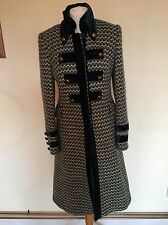 Karen Millen Coat Size 12, 95% Virgin Wool