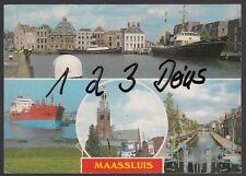 740Q)  Ansichtskarte  AK   Maassluis  4 Motive    Holland   Niederlande