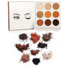 Pro Cosmetic Matte Eyeshadow Cream Eye Shadow Makeup Palette Shimmer Set 9 Color