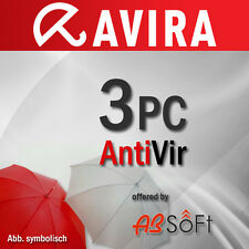 AVIRA Antivirus Pro 3 PC 2017 VOLLVERSION Premium 1 Jahr 2016