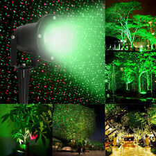 R&G Waterproof Landscape Garden Projector Moving Laser Xmas Stage Light Lamp New
