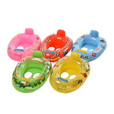 Kids Baby Seat Swimming Swim Ring Pool Aid Trainer Beach Float Inflatable FT