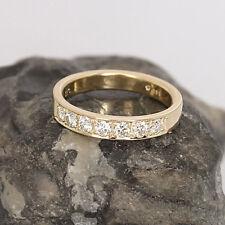*Designer Ring*Halb Memory*14K/585er Gold*7 Brillanten 0,50 ct.*Größe 53,5*TOP*