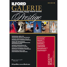 Ilford Galerie Prestige Smooth Pearl A3 Inkjet Photo Paper - 310gsm - 25 sheets