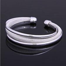 Armreif 925 Sterling Silber Armband Armkette Spange Schmuck Geschenk