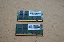 Edge 8GB DDR2  Laptop Memory Kit 2x 4GB PC2-6400S 800MHz Non-ECC 4GN592R08
