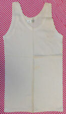 Vintage childrens sleeveless vests 1920s 1930s Pre-war boys girls clothes UNUSED